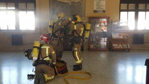 Realización de Simulacro de evacuación en Cáceres